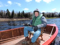 Mike Price MA, fishing the Miramichi since 1962