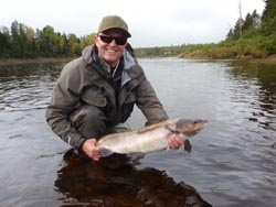 Brian Warrington, Manchester England, Nor'west Miramichi River